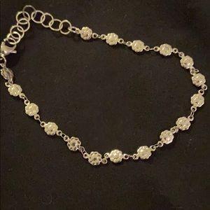 Jewelry - Silver ankle bracelet